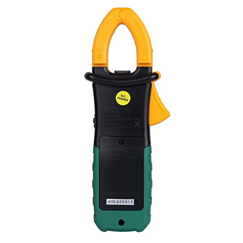 A Digital Clamp Meter 400 : Aimo ms a auto range digital clamp meter ac dc