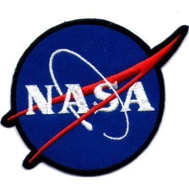 NASA Space Blue Shuttle Appliques Hat Cap Polo Backpack Clothing Jacket Shirt DIY Embroidered Iron On/Sew On Patch #3