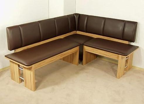 Moderne Eckbank Kernbuche Sitzecke Esszimmer Küche Melamin Design  Hochwertig Neu