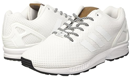 para Blanco White White White ZX Footwear Footwear Footwear Flux Adidas Hombre Zapatillas wZtBKaCXqx