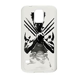 Samsung Galaxy S5 phone cases White Wolverine Phone cover GWJ6328844