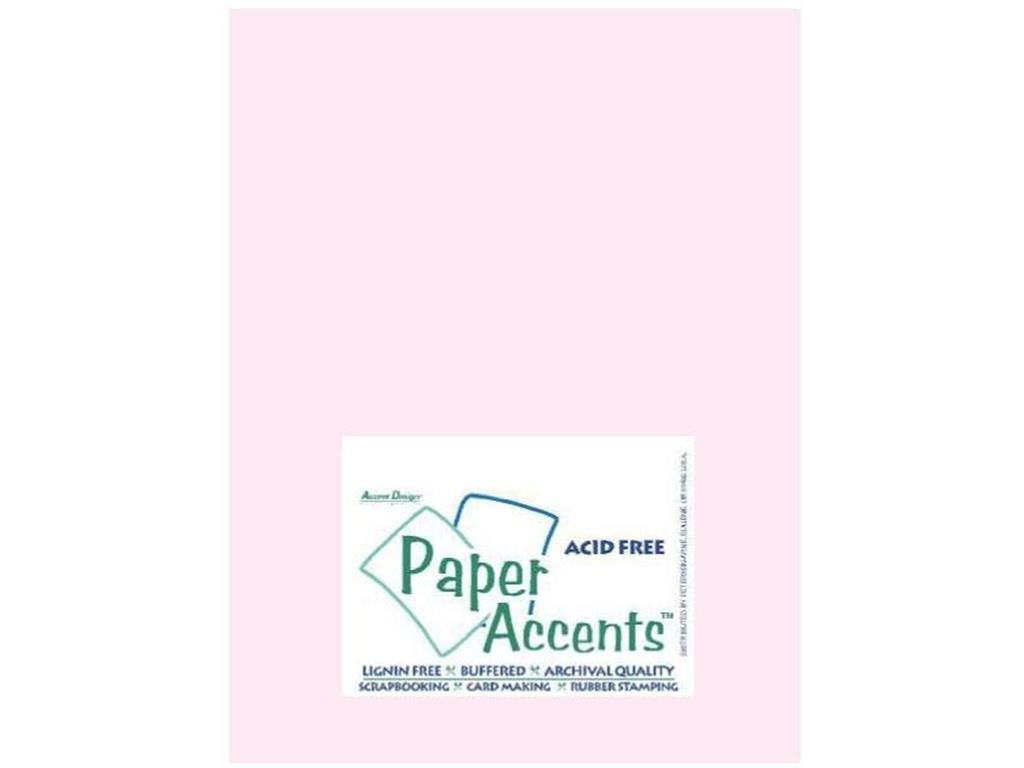 Accent Design Paper Accents ADPaperVellum8.5x11LightPink Vellum 8.5x11 27# Light Pink