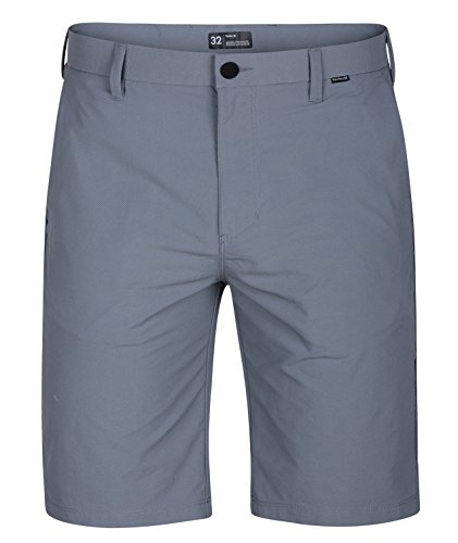 Hurley Men's Dri-Fit Chino 22 Walk Short, Cool Grey, 36