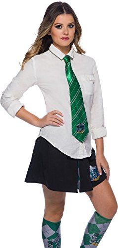 Slytherin Costumes Female - Rubie's Adult Harry Potter Neck Tie,