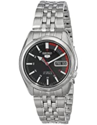 Seiko Mens SNK375 Automatic Stainless Steel Watch