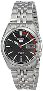 Seiko Men's SNK375 Automatic Stainless Steel Watch