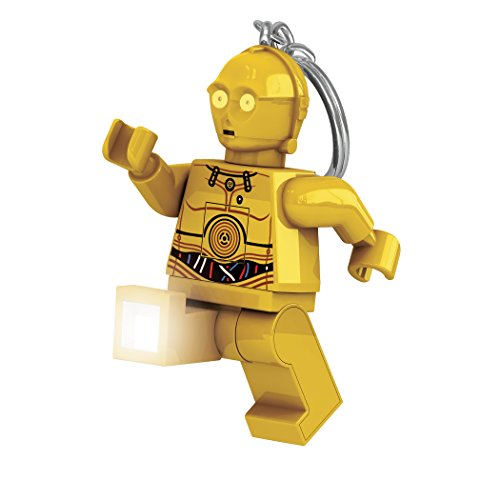 LEGO Star Wars : The Last Jedi - C-3PO LED Key Chain Flashlight