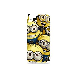 GCKG Despicable Me II Minions Style Flexible Plastic and TPU Case for iPhone 6