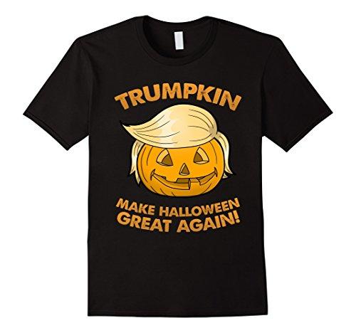 Mens Trumpkin - Funny Pumpkin Halloween Shirt 3XL (Halloween Shirts)