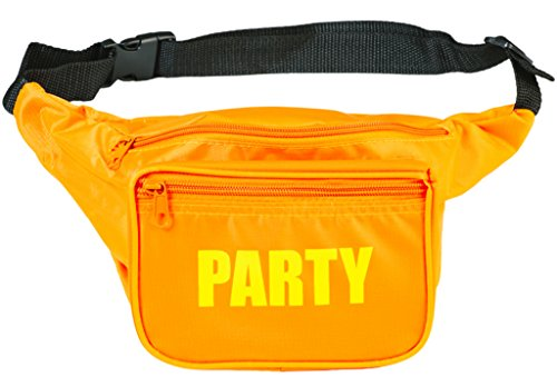 Funny Guy Mugs PARTY Fanny Pack, Orange