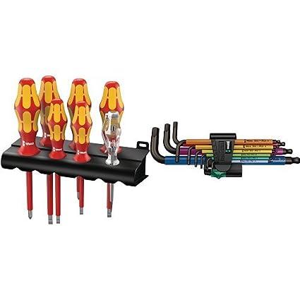 Wera 05006147001 160 i/7 Rack - Juego de destornilladores Kraftform ...