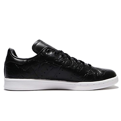 Mens Adidas Stan Smith, Noir / Blanc Noir / Blanc