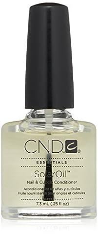 CND Essentials Nail & Cuticle Oil, Solaroil,