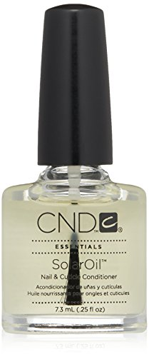 CND Essentials Nail & Cuticle Oil, Solaroil, 0.25 fl. oz. (packaging may vary)