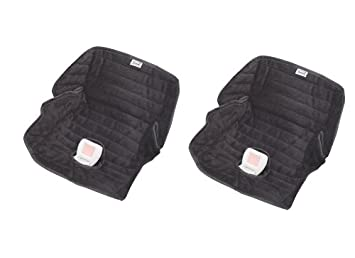 Amazon.com: Summer Infant Deluxe Piddle Pad, Black, 2 Pack: Baby