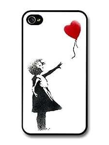 AMAF ? Accessories Banksy Balloon Girl Street Art iPhone 4 4S case