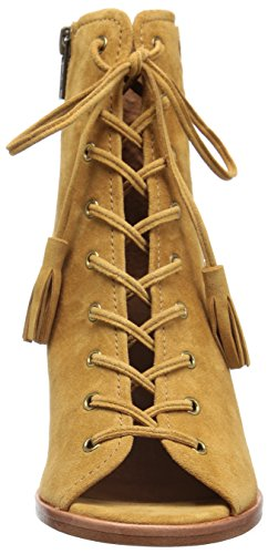 Frye Mujeres Dani Whipstitch Lace Bota Camel
