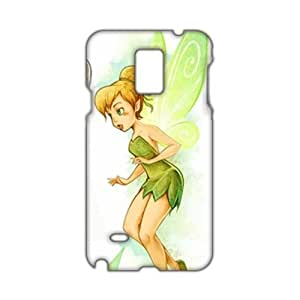 Cool-benz Green butterfly girl 3D Phone Case for Samsung Galaxy Note4