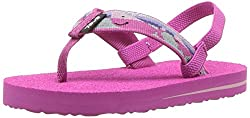 Teva Girls' T Mush Ii Flip-flop, Willy Pink, 6 M Us Toddler