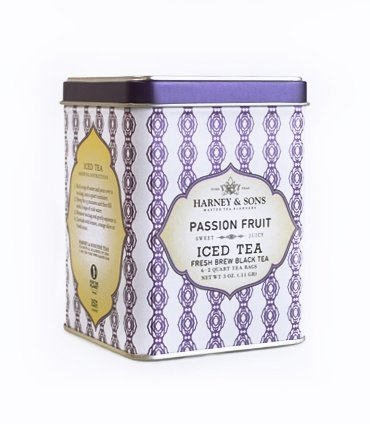 Harney & Sons Passion Fruit Iced Tea, 6 Brew - Passion Iced Fruit Tea