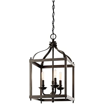 cage lighting pendants. modren lighting kichler 42566oz three light pendant throughout cage lighting pendants