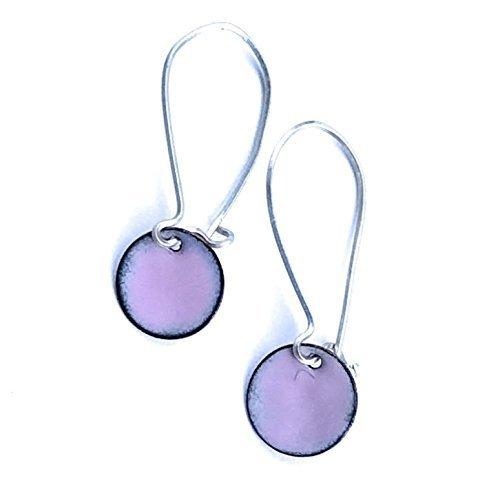 Disc Kidney Wire Earrings - 5