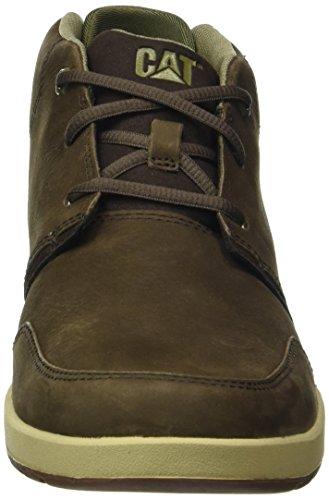 Caterpillar Cruz Mens Leather Casual Shoes Brown 7ra77Dupm