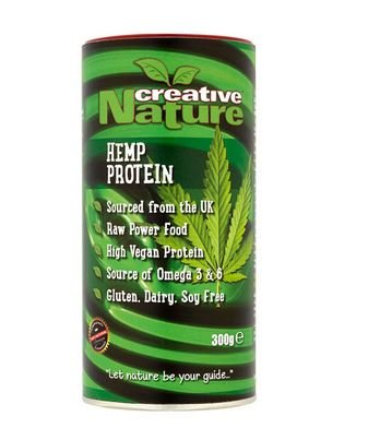 Creative Nature Hemp Protein Powder 300 g Pack of 1