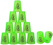 DEWEL Quick Stacks Cups, 12 PC of Sports Stacking Cups Speed Training Game