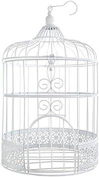 Urna jaula, color blanco