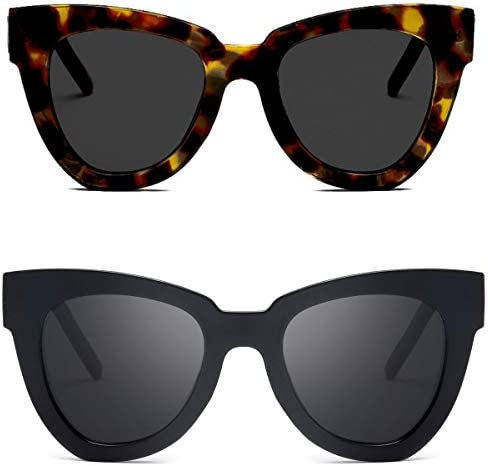 Luxury Ladies Womens Oversized Cat Eye Sunglasses Vintage Style Retro Shades TY