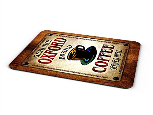 Oxford Coffee Mousepad/Desk Valet/Coffee Station Mat - Oxford Valet