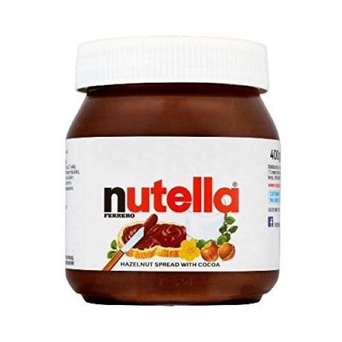 Nutella Chocolate Spread 400g 400gm Pack Of 15 Amazon Co Uk