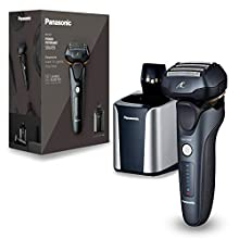 Panasonic - Afeitadora en seco y húmedo, cabezal de 5 capas con motor lineal