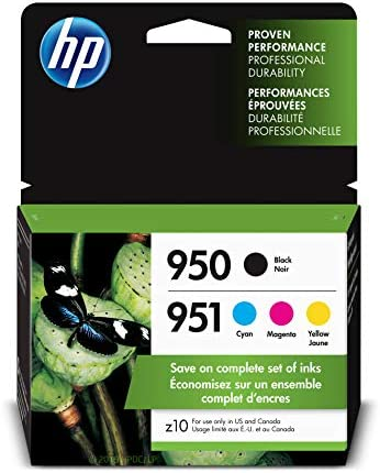 HP X4E06AN 140 Cartridge 4 Pack product image