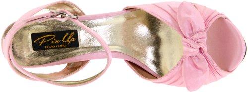 Pinup Pink Satin Bettie heels 8 high platform 5 sandals retro sexy 2 Couture 04 ra7UxwqrH