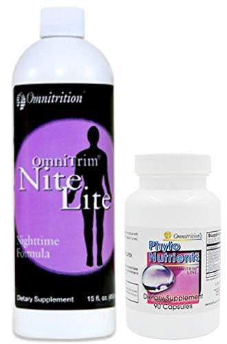 Omnitrition Bundle *Night time* (Includes: OmniTRIM Nite Lite and OmniTRIM PhytoNutrients) by Generic