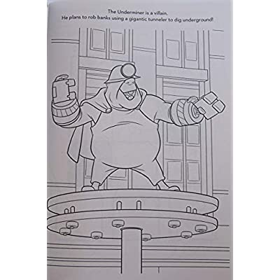 Lazy Days Incredibles 2 Coloring and Activity Book - 96 Pages: Toys & Games
