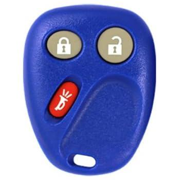 2003 Chevrolet Silverado 1500 2500 3500 Keyless Entry Remote Key Fob w/ Free DIY Programming Instructions - Blue