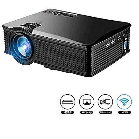 Ovegna S60 1500 Lumens Mini LED Proyector 1000: 1, 800 * 480 ...