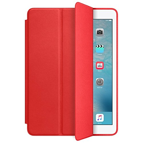 Apple Smart Case for iPad Air 2, Bright Red MGTW2ZM/A (Does NOT fit IPAD AIR 1, IPAD 1, IPAD 2,IPAD 3 IPAD - Ipad Case Apple Red