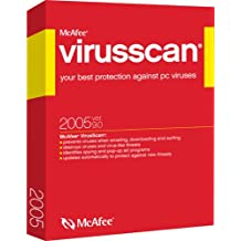 McAfee VirusScan 2005 [Old Version]