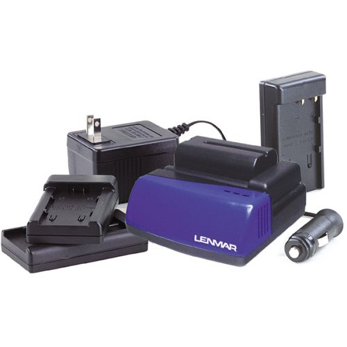 Lenmar BCLC1X 3.6 Volt -7.4 Volt LI-ION Charger for Camcorder and Camera Batteries ()