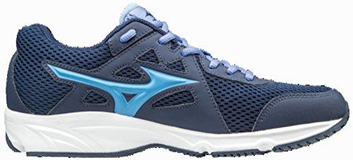 Chaussure de running femme Mizuno Spark 2Bleu/Bleu Clair/bianco-37