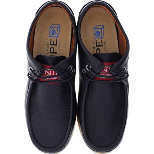Noir Chaussures pour Lacets à de Snipe Noir Femme Ville 8wxSqcf
