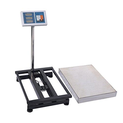 9d6e1fa30c85 COLIBROX--660lbs Weight Computing Digital Floor Platform Scale ...