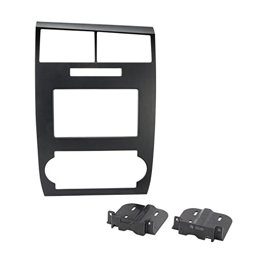 2006 Dodge Charger Magnum - SCOSCHE CR1295DDB Double DIN Car Stereo Dash Installation Kit Compatible with 2005 to 2007 Dodge Charger or Magnum Vehicles