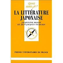 Littérature japonaise (La) [ancienne édition]