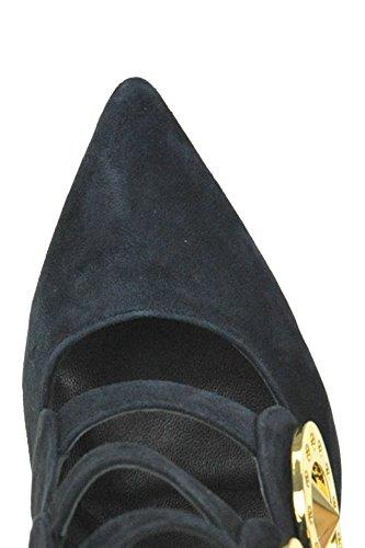 Heels Women's Black Kat Maconie Suede MCGLCAT04024I q557xX