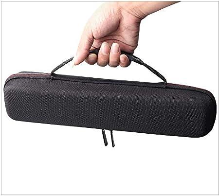 GCDN Duro Estuche para Clásico Plancha de Pelo Rizado Hierros Styler, Plancha de Pelo Eva Funda, Plancha de Pelo Estuche de Viaje (Accesorios No Incluyen) - Negro, Free Size
